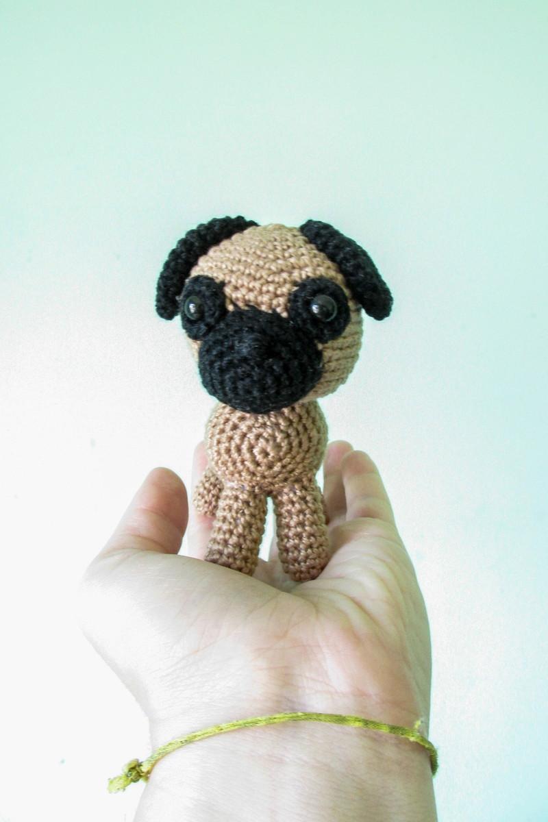 Baby Pug Dog amigurumi pattern - Amigurumi Today   1200x800
