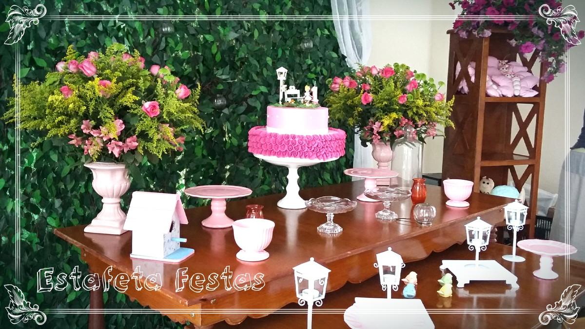 Jardim Encantado Rústico no Elo7 Estafeta Festas (9284C9) -> Decoração De Festa Infantil Jardim Encantado Rustico