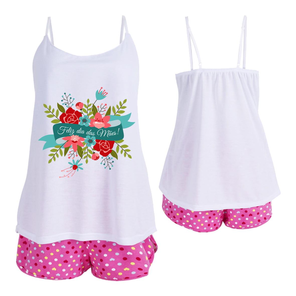 d5a2d382a8b Conjunto Pijama Feminino Dia das Mães no Elo7