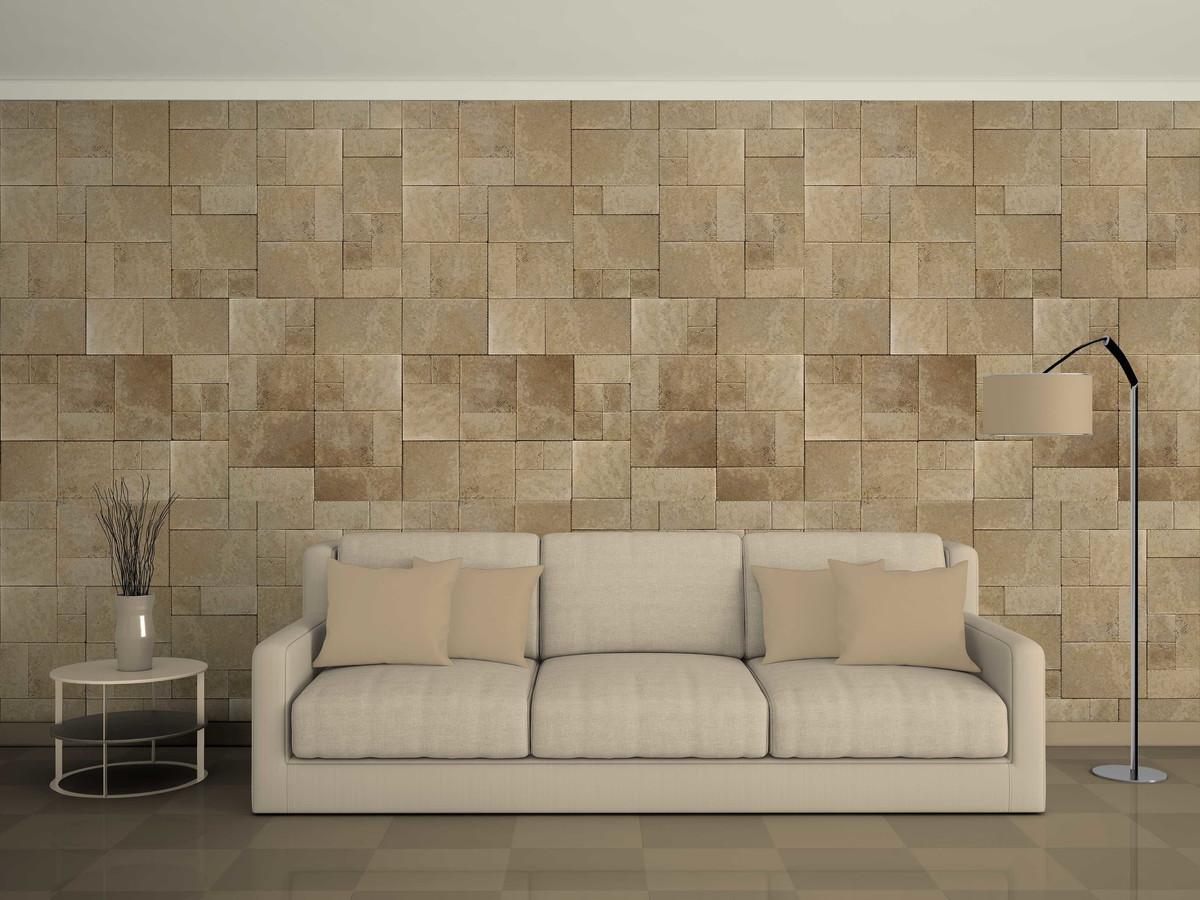 Papel de parede pedra ceramica no elo7 virgus adesivos for Ceramica para revestir paredes