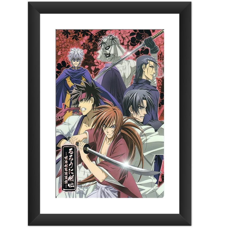 Quadro Samurai X Anime Manga Art Desenho No Elo7 Luck Decoraes Sticker Zoom