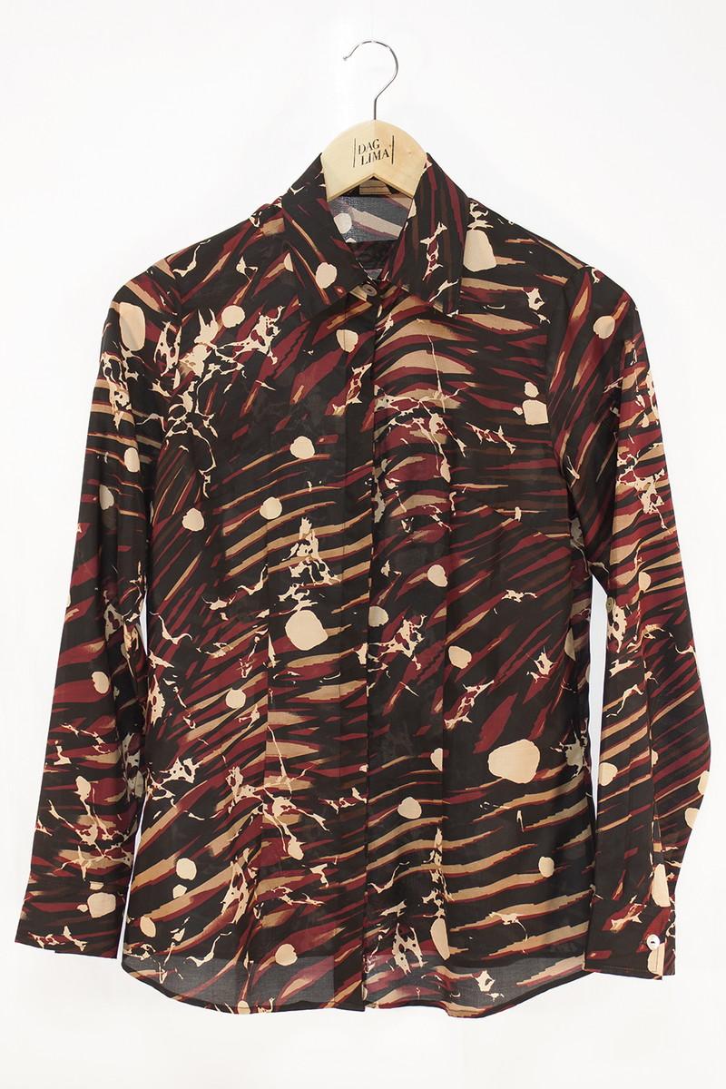 67dd0894d Camisa Feminina Manga Longa Estampada P no Elo7 | DAG LIMA (92E5A1)