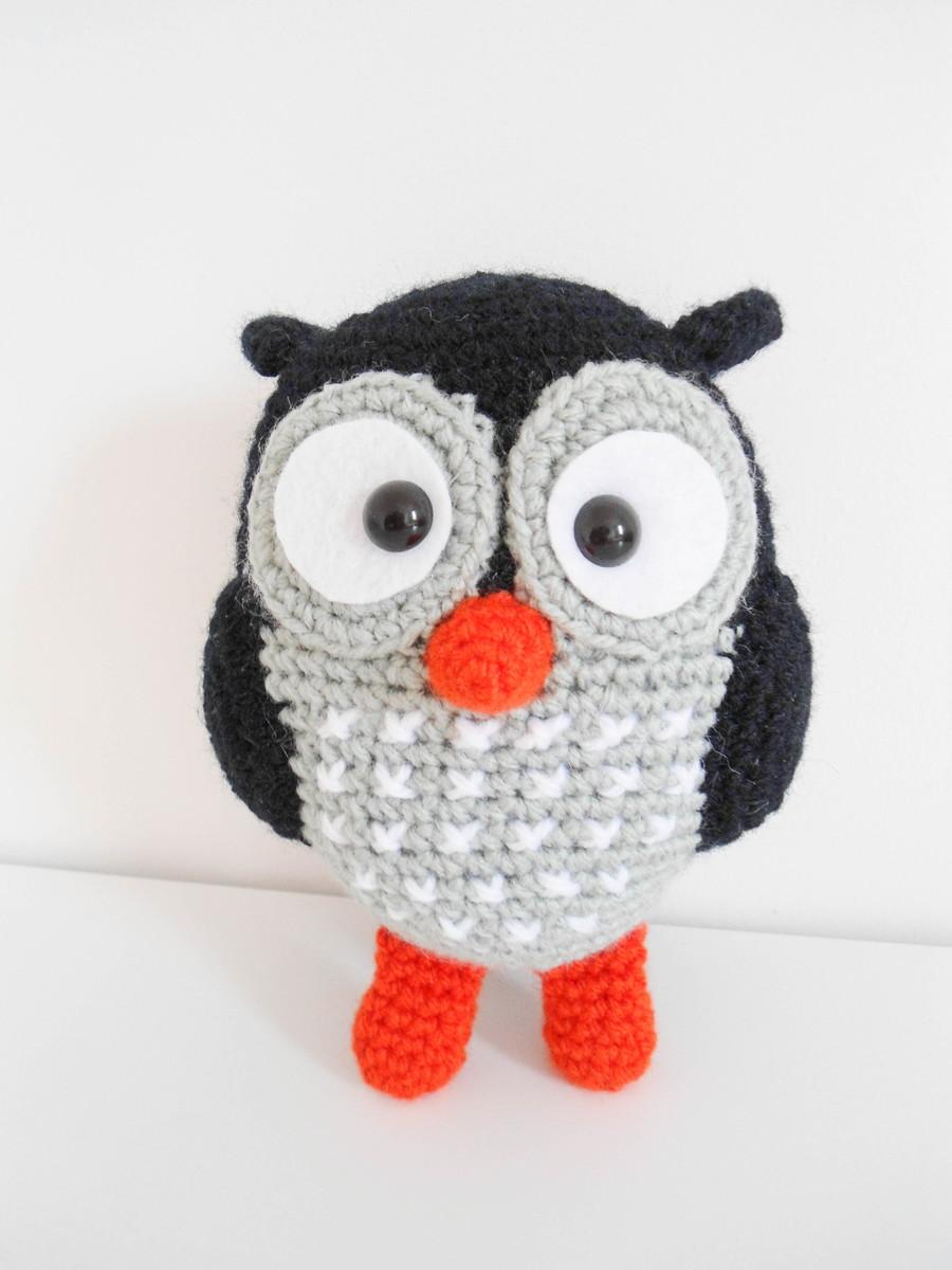 How to Make Amigurumi Crochet Owl - Crochet   Projetos de crochê ...   1200x900