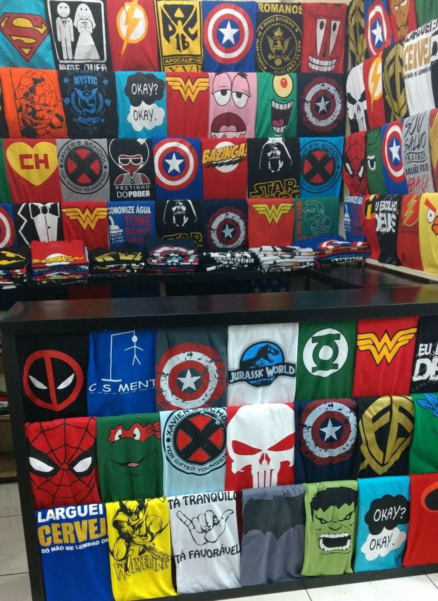 ec995bfeae Kit com 4 camisetas Super Heróis no Elo7