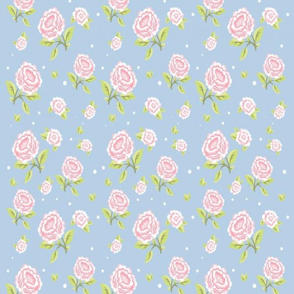 papel de parede flores rosadas no elo7 decoraplus 9378f5