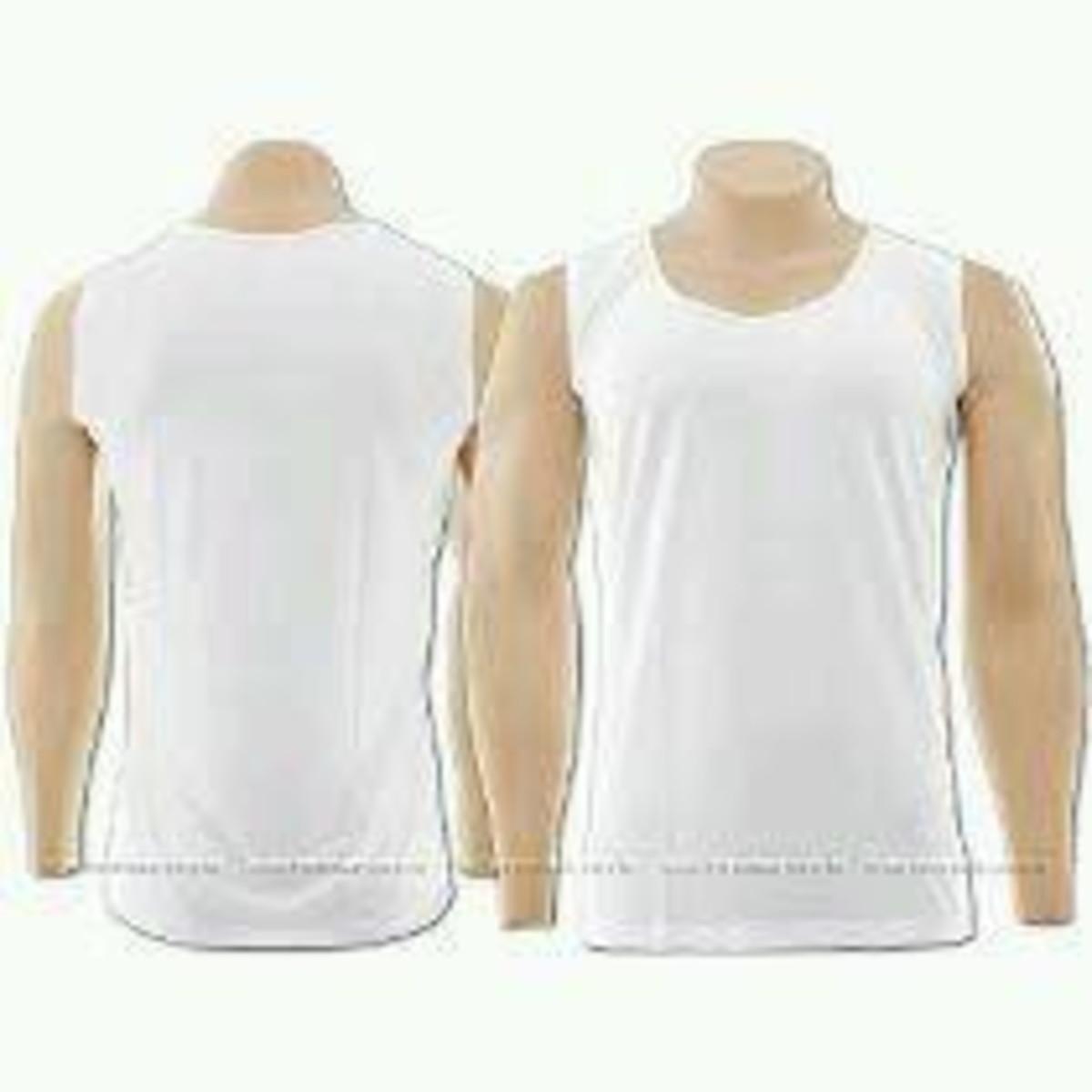 Camisa regata machão branca tradicional no Elo7  124aa7ff880