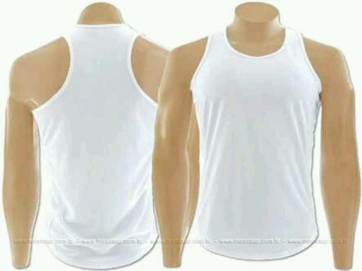 Camisa regata nadador branca no Elo7  d36253cdfba