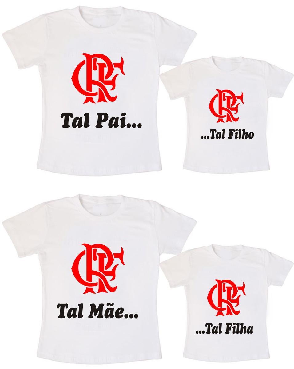 7d7ce67bfc Kit 4 Camiseta Flamengo Aniversário no Elo7