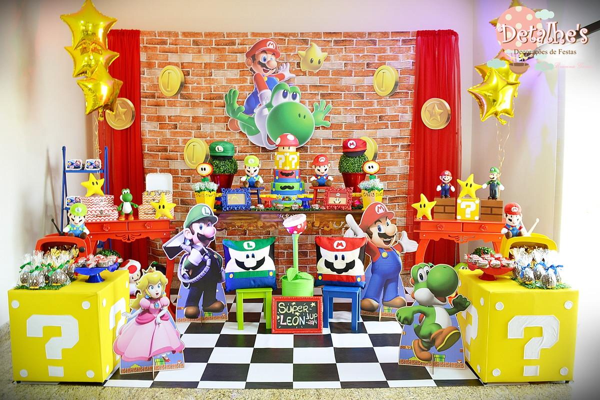 Body Mesversario Angry Birds Kit No Elo7: Decoração Super Mario Bross No Elo7