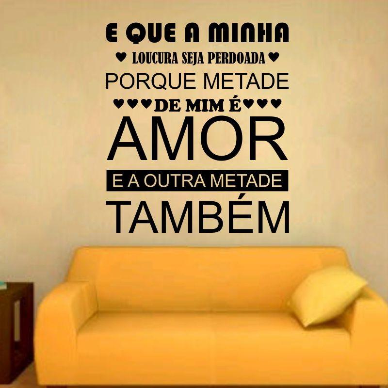 Adesivo Frases Frase De Amor No Elo7 Adesivos Dicolar 93bfcf