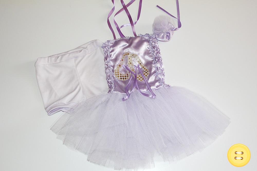 f19ebc9007 Fantasia Bailarina Lilás - 4 Anos no Elo7