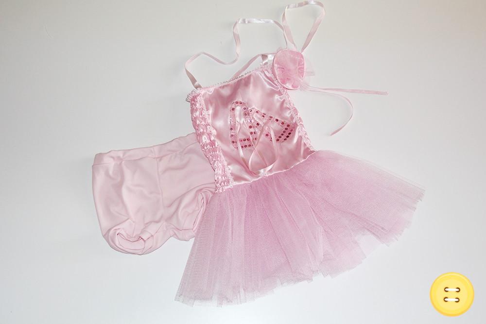 3cad08c9f2 Fantasia Bailarina Rosa - 4 Anos no Elo7