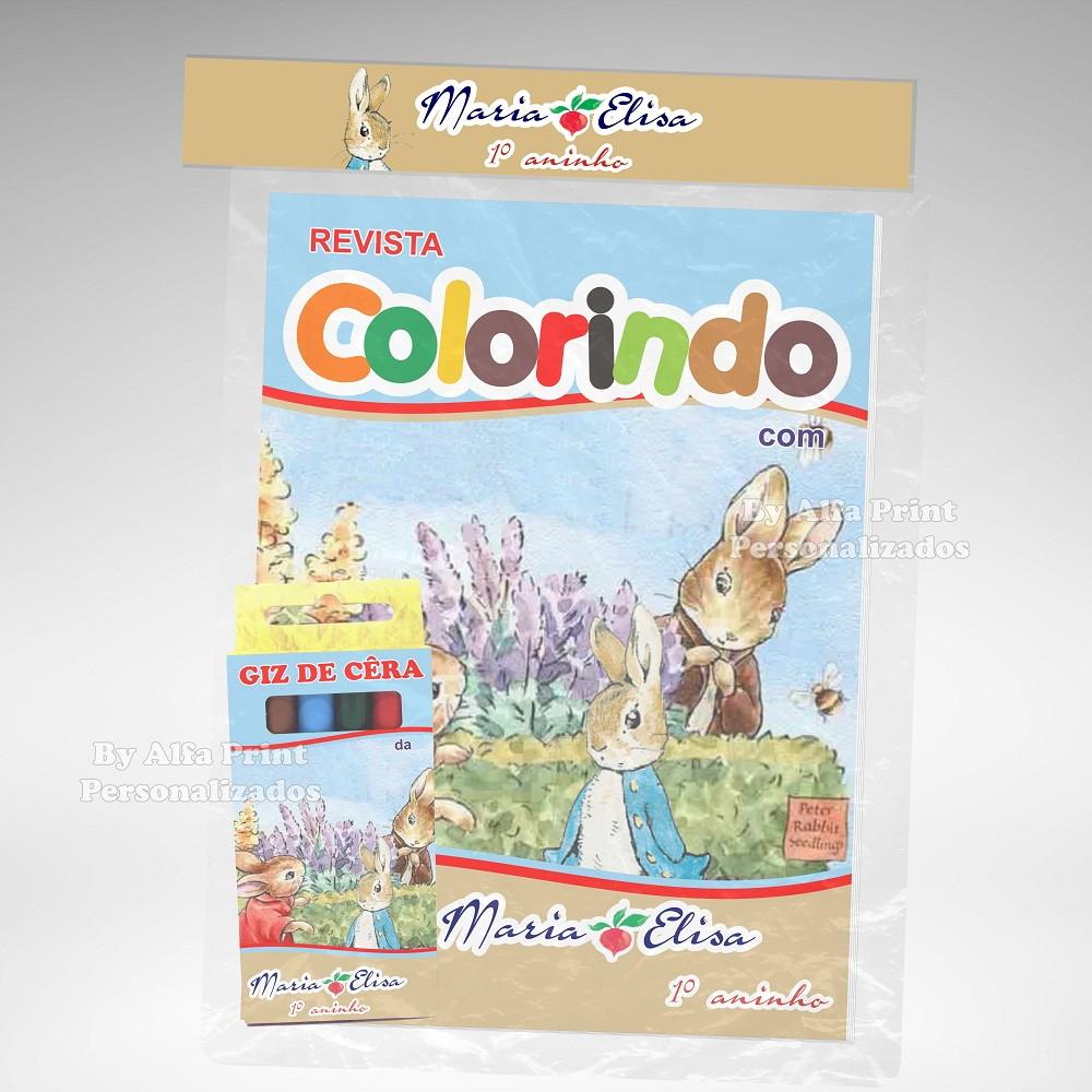 Kit Colorir Peter Rabbit Brindes No Elo7 Alfa Brindes
