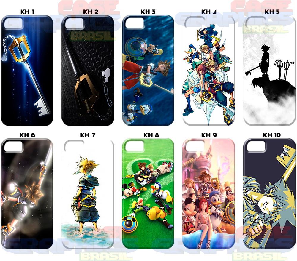 7bf5c16d5 Capa Celular Kingdom Hearts Keyblade Sora Riku Roxas Jogo no Elo7 ...