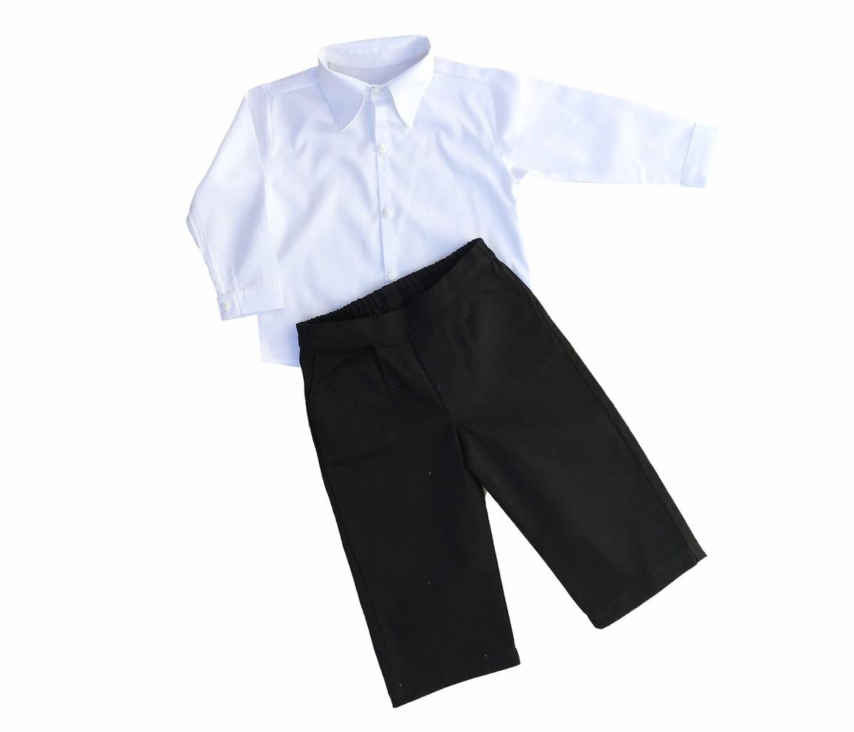 d4c76243c5 Conjunto social infantil  Camisa e Calça no Elo7