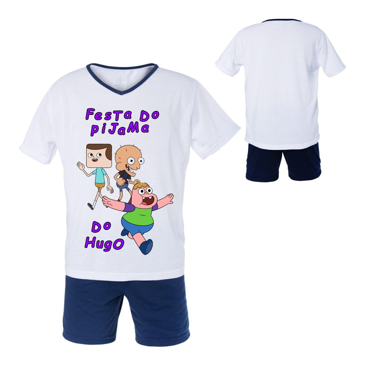 aa0c66fc1cd Conjunto Pijama Infantil Masculino no Elo7