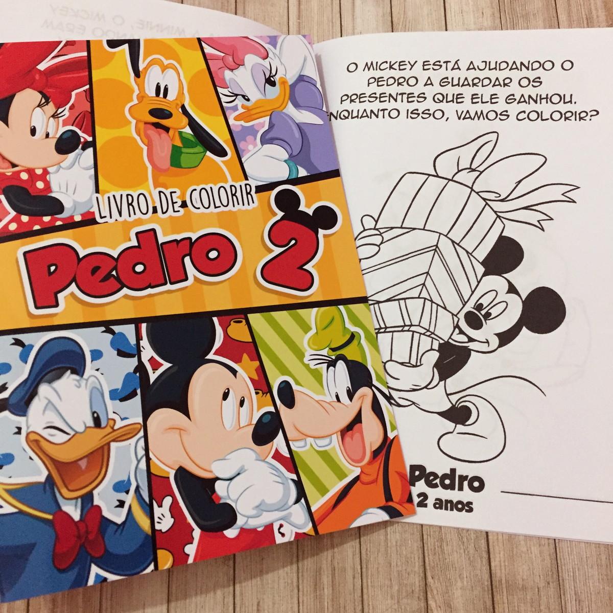 Livro De Colorir Turma Do Mickey No Elo7 Dreamland Solucoes