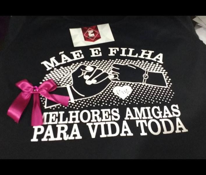 Camiseta Mãe E Filha Melhores Amigas No Elo7 Sm Camisetas 869dc6