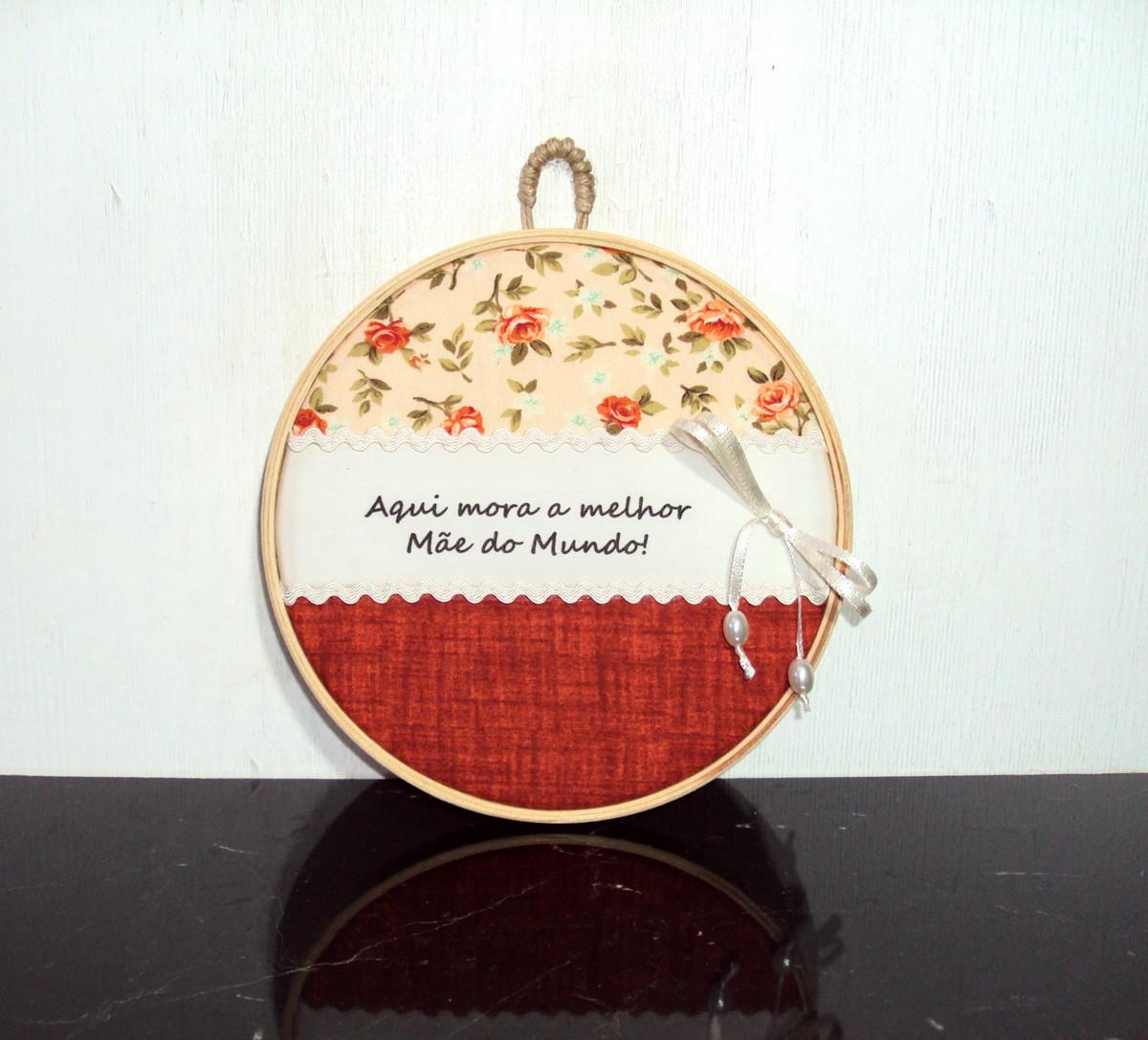 Quadro Decorativo Melhor Mãe Do Mundo No Elo7 Jasmim Artesanato