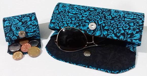 c89b0f2c8f224 Kit porta óculos e moedas no Elo7   Danielakpresentes (706FF4)