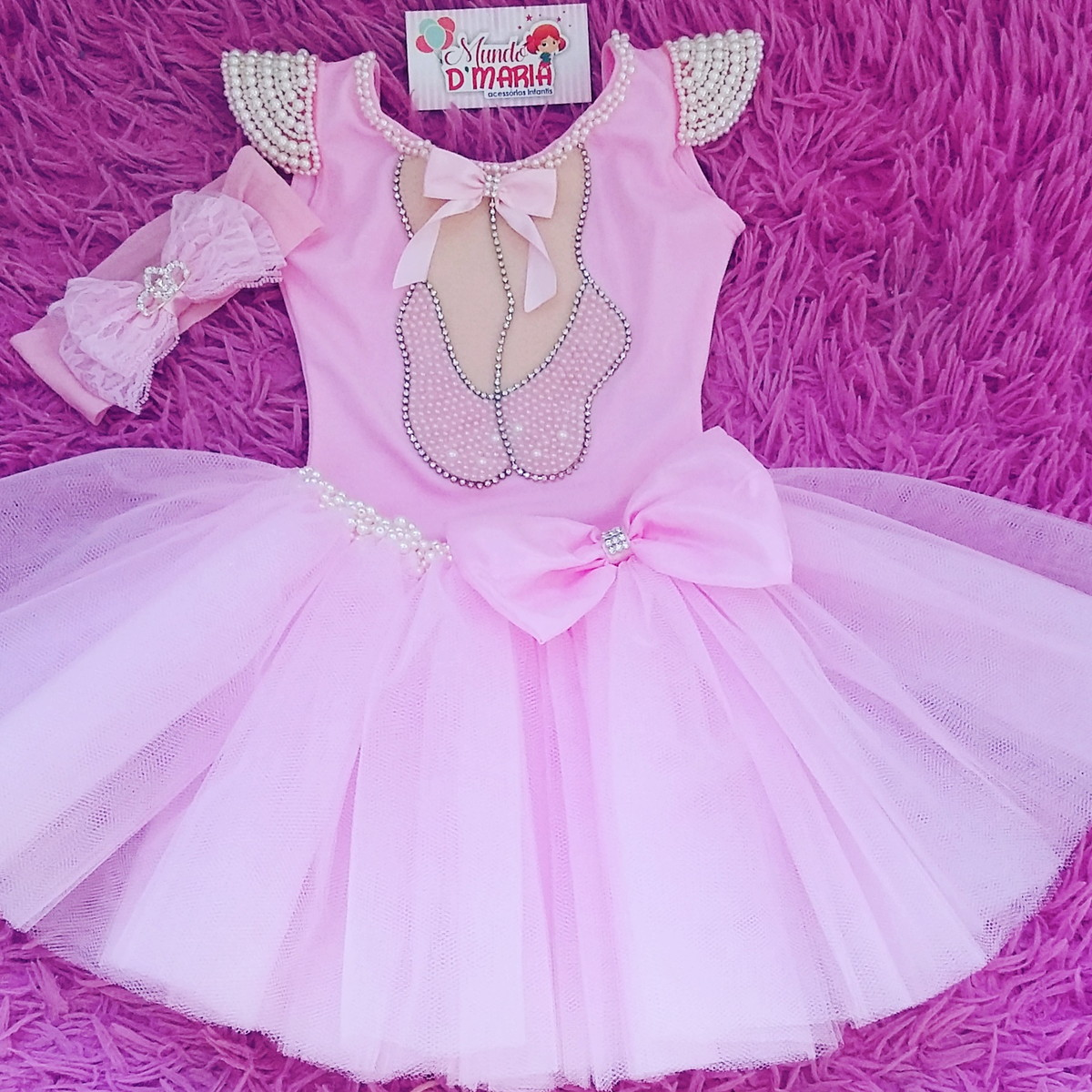495543027a Tutu Bailarina + Collant Customizado no Elo7