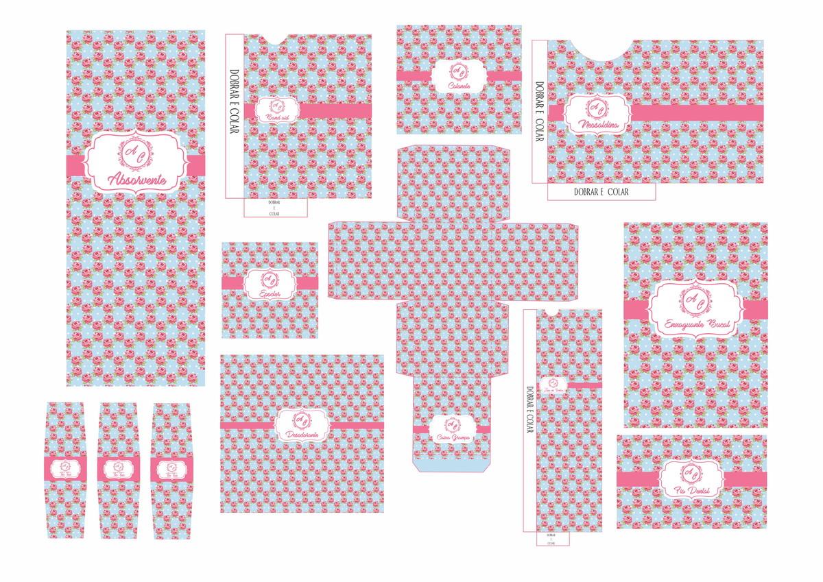 Kit Banheiro Casamento Moldes Dourado : Kit banheiro casamento digital no elo f? franco artes