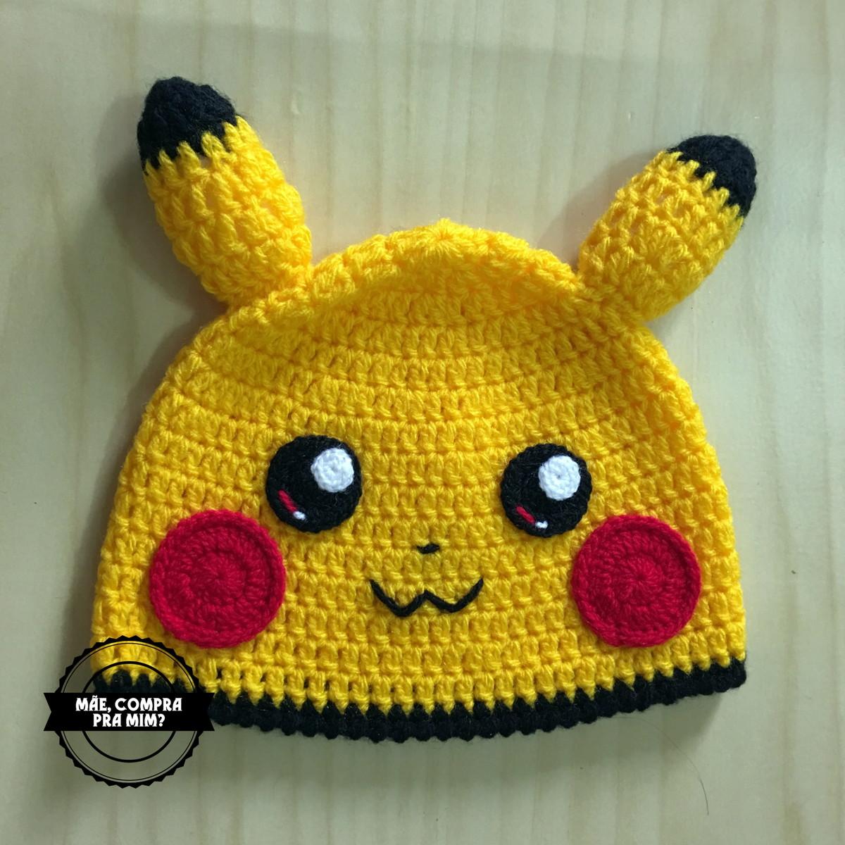 2663bfe14fb9c Touca Pikachu no Elo7