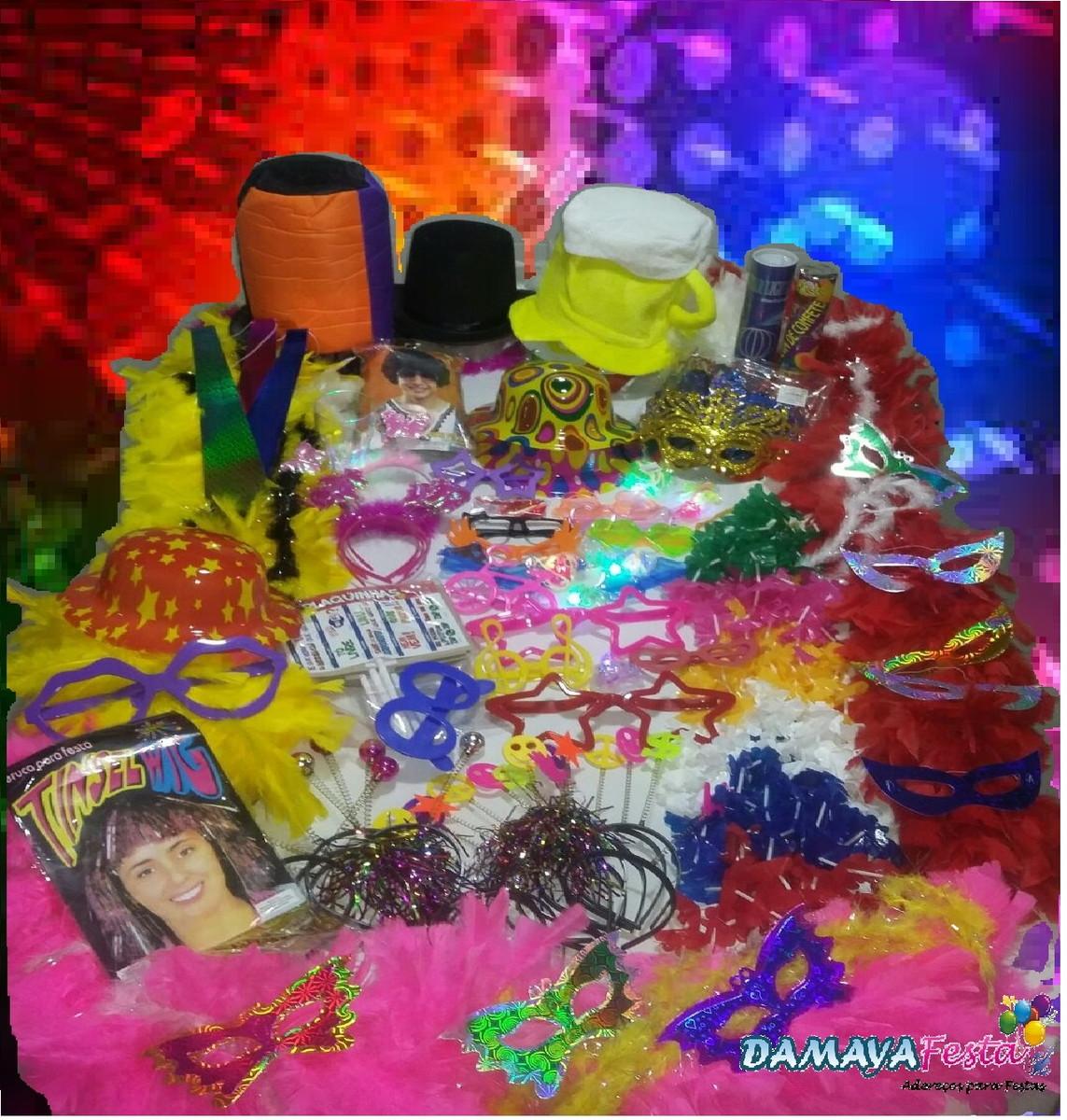 abae9ef11 Zoom · Kit festa balada neon