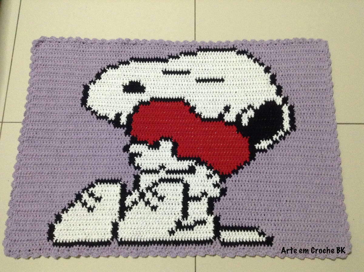 tapete snoopy coracao mamae - Snoopy Tapete