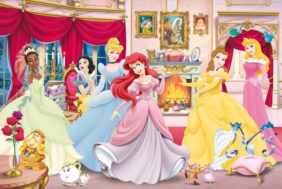 Princesas Disney Painel Em Lona 1x0 65m No Elo7 Decora Kids 9598e5