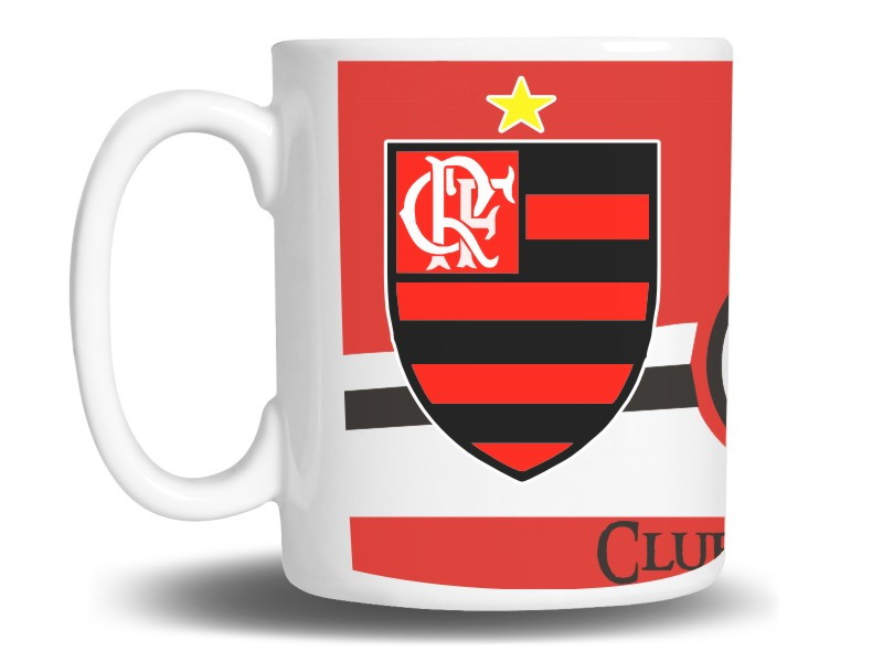 f6fb01260b Caneca Flamengo (Times) no Elo7