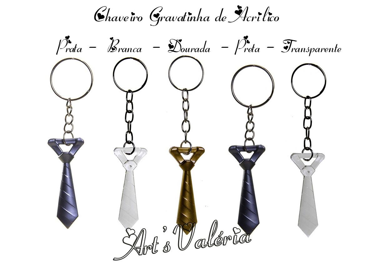Chaveiro Gravatinha de Acrílico no Elo7   Arts Valeria ... e4be26d748