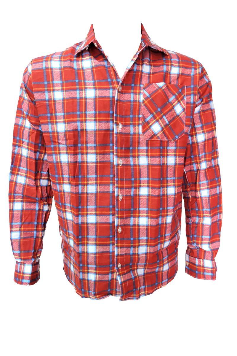 857d9b1821 Camisa de festa junina adulto xadrez no Elo7