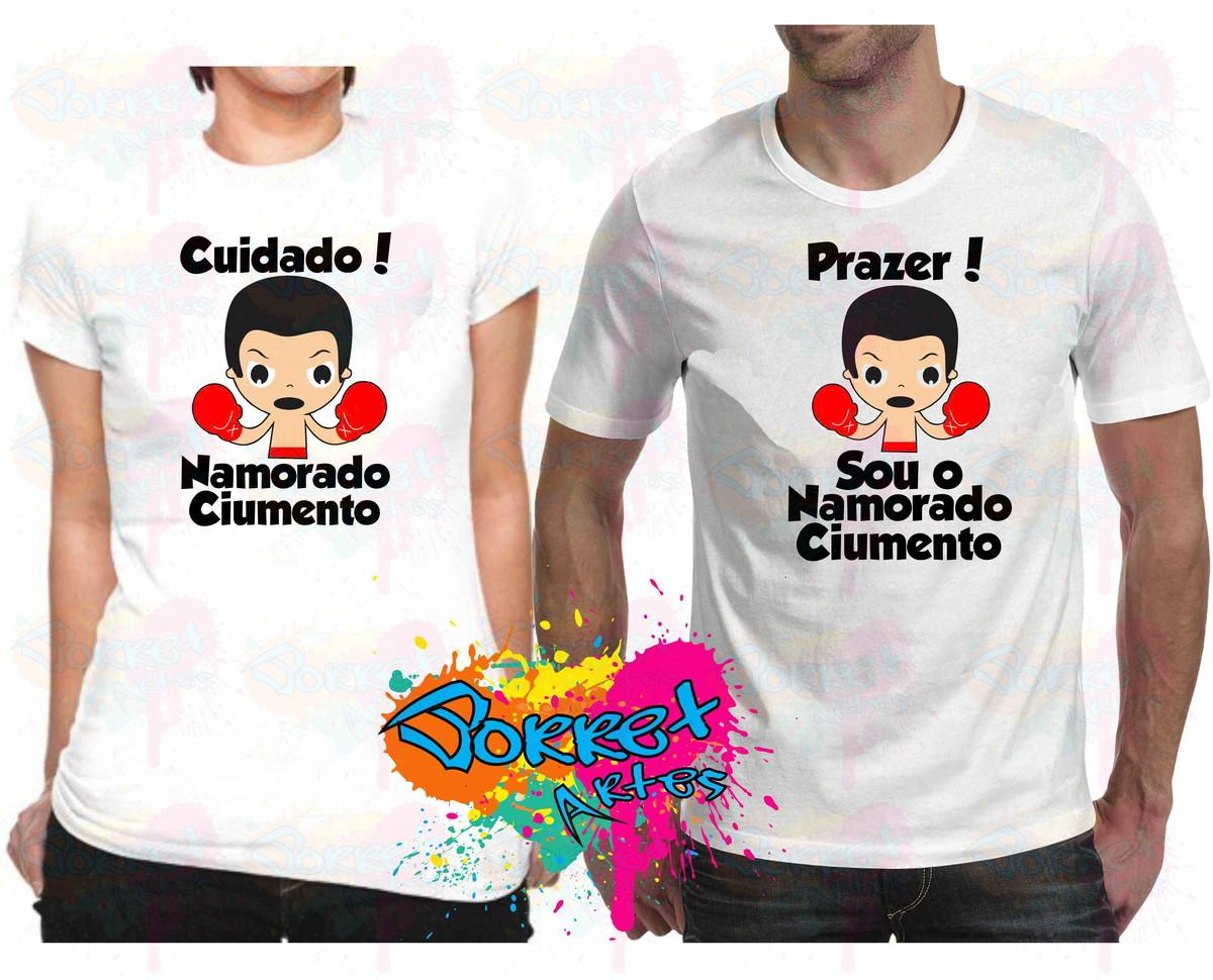 Camisas Namorado Ciumenta Kit 2 Pçs No Elo7