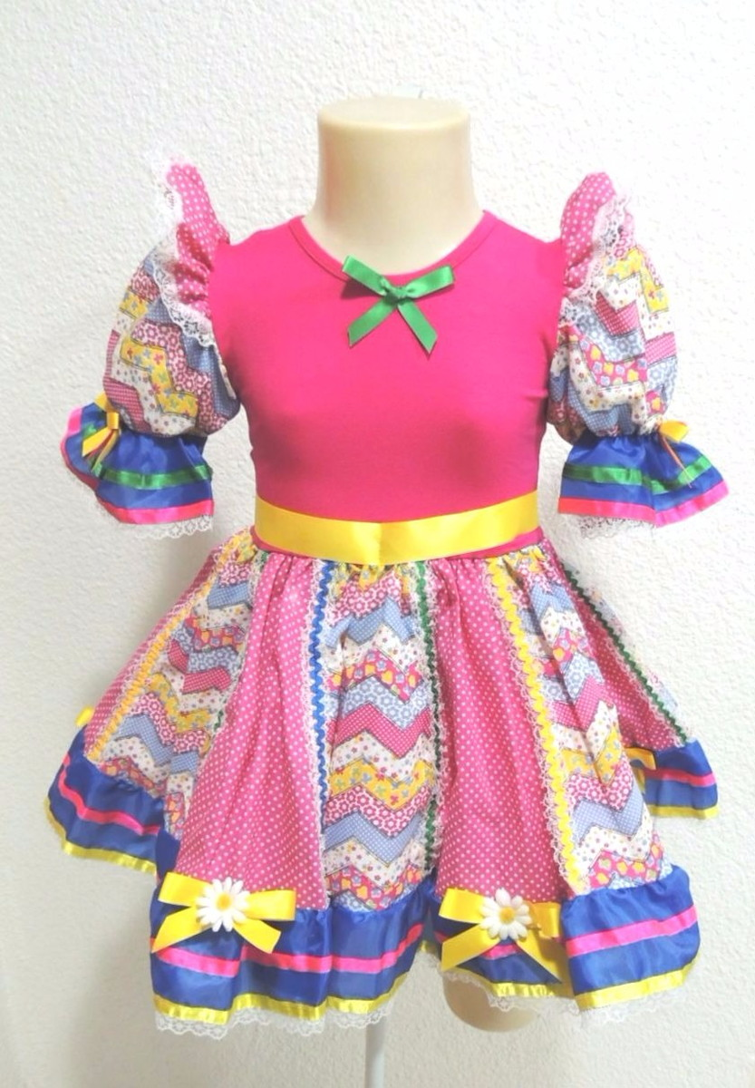 Vestido de Festa Junina Infantil Tam 12 no Elo7 | Trakejo ...