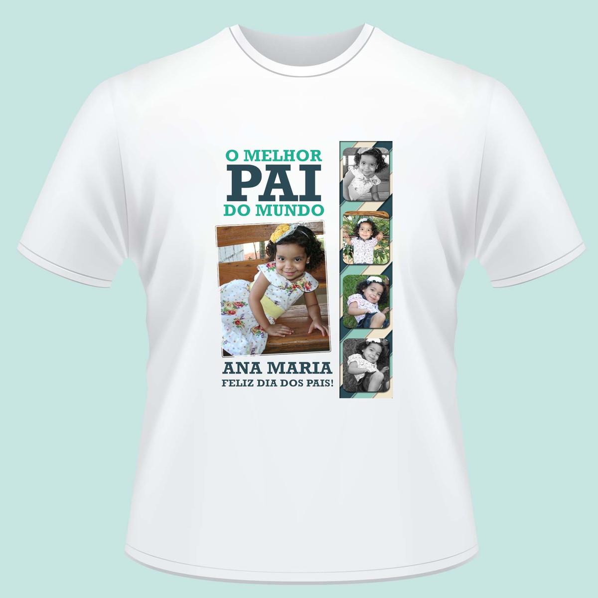 b8b615997 Camiseta o melhor pai do mundo 04 no Elo7