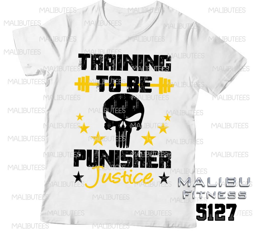 camiseta masculina academia punisher no Elo7  e7ded6da00a