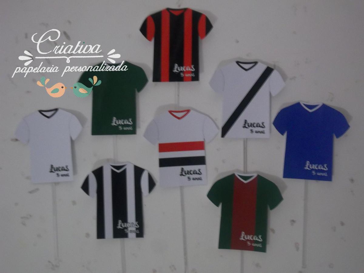 869362a5b3 topper camisa futebol no Elo7