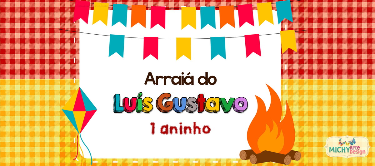Aparador Branco Com Gaveta ~ Rótulo p Cofrinho Festa Junina no Elo7 Michy Arte Design (965737)