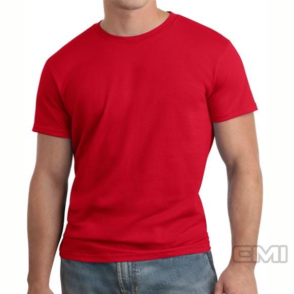 Camiseta Vermelha basica 100% Algodao no Elo7  ee1026c2ee532