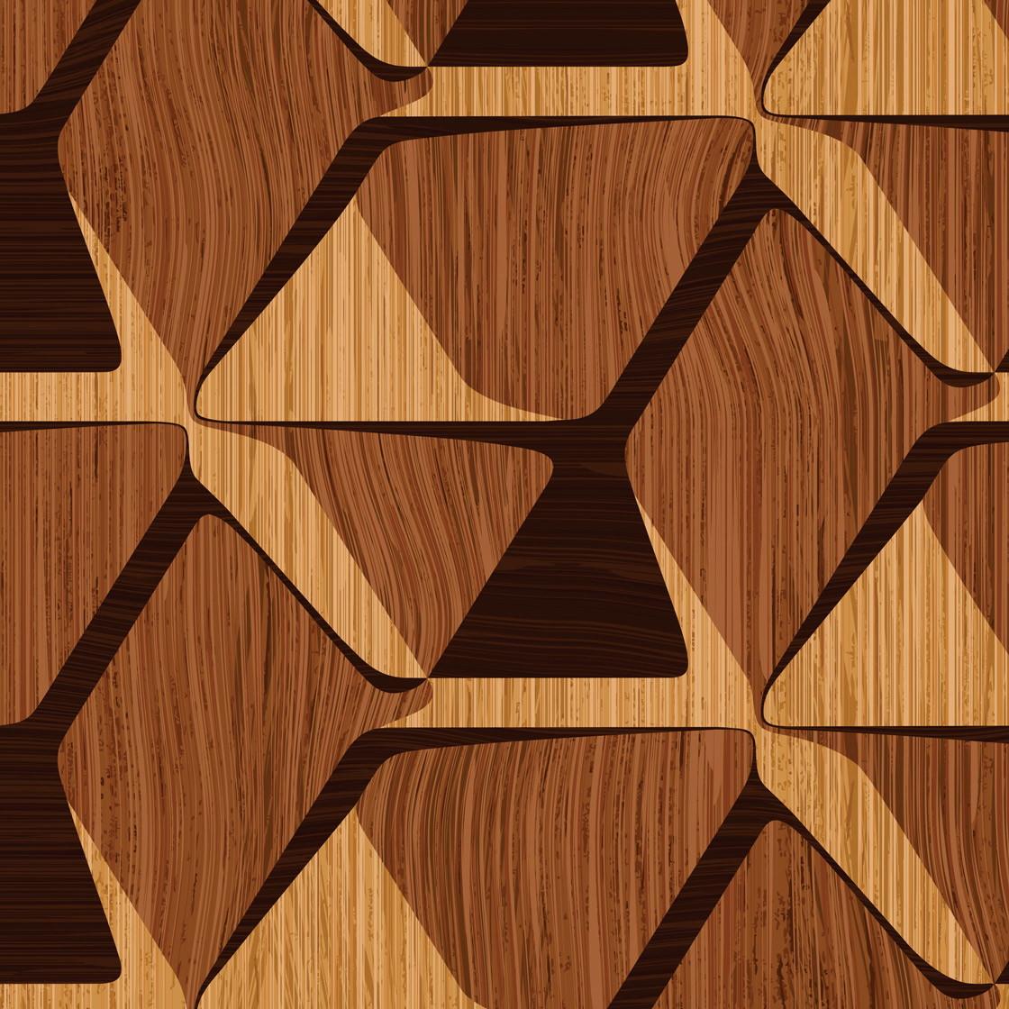 Papel De Parede Madeira Mosaico 38 No Elo7 Decoraplus 968caf  -> Papel De Parede Para Sala Amadeirado