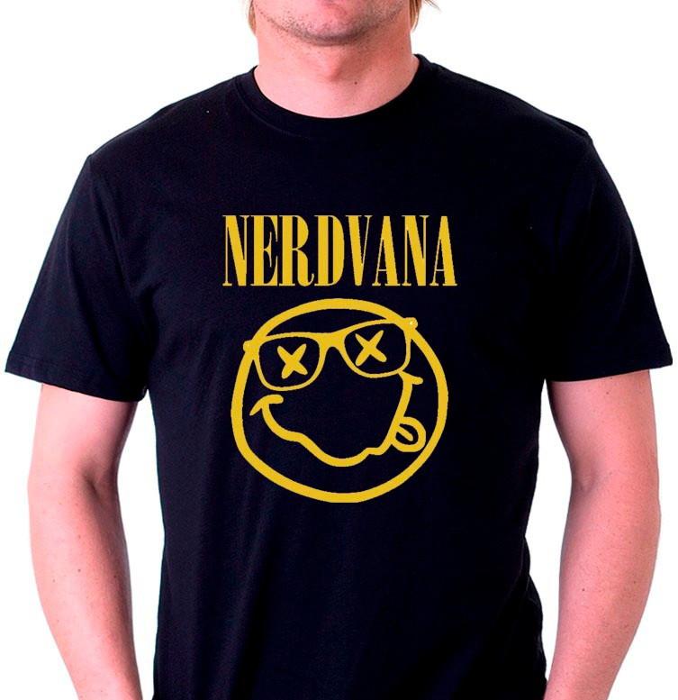 Camisetas Geek Nerd Nirvana no Elo7  9c45312c729
