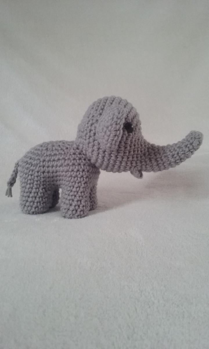 Elefante Indiano de Crochê | Elo7 | 1200x720