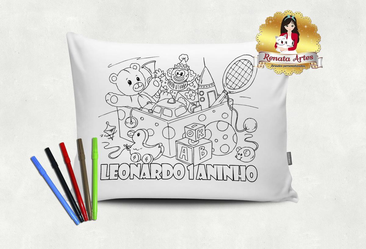 Almofada Para Colorir Brinquedos No Elo7 Renata Artes 96b059