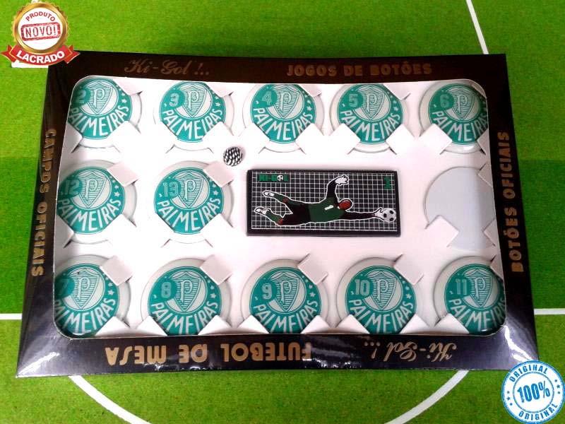6ef03b50c9 Time   Jogo De Botão Oficial KIGOL - VERDÃO no Elo7