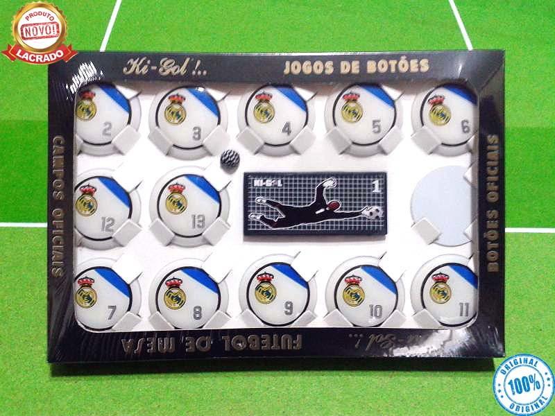 73f14b73eb Jogo De Botão Oficial KIGOL Real Madrid no Elo7
