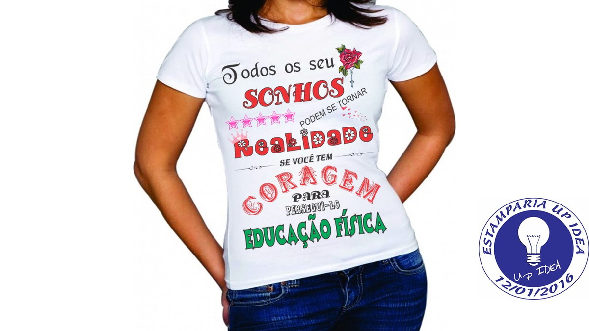 3b79e38de0 camiseta educacao fisica curso up idea elo zoom · camiseta educacao fisica  curso 2