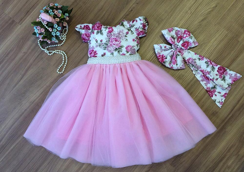 Magnífico Vestido De Dama De Rosa Pastel Foto - Vestido de Novia ...