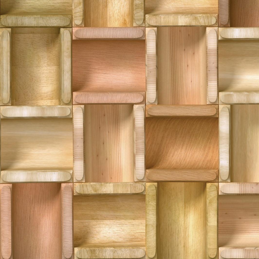 Adesivo Decorativo Para Vidro ~ Papel de Parede Madeira Caixotes Vinil DecoraPlus Elo7