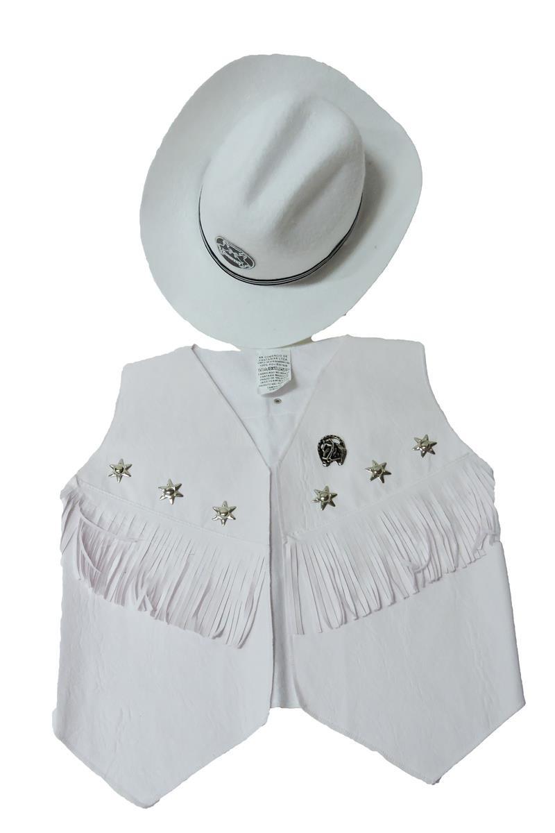 17d1e5c5cf7ee Colete e Chapeu Cowboy infantil country no Elo7